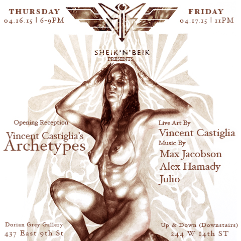 """Archetypes"" Retrospective at Dorian Grey Gallery, Opening April 16th"